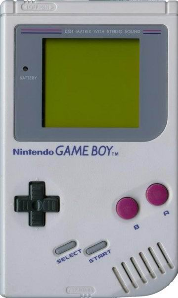 Ah, the ten pound GameBoy.  You kept on playing until your poorly developed arm muscles caved under the weight.