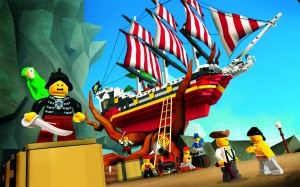 "Only Lego could make swarthy village ""pillaging and raping"" pirates such a cute little bunch."