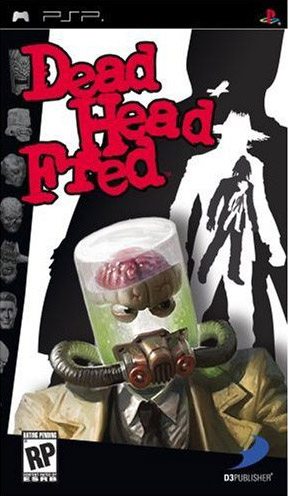 Dead Head Fred:  You play a decapitated detective voiced by Dr. Cox from Scrubs in a 1940's horror/noir drama, getting abilities by using the heads of your enemies, all while trying to find your killer.  These people at Vicious Cycle must have the best brainstorming sessions.  Or weed.  Or BOTH.