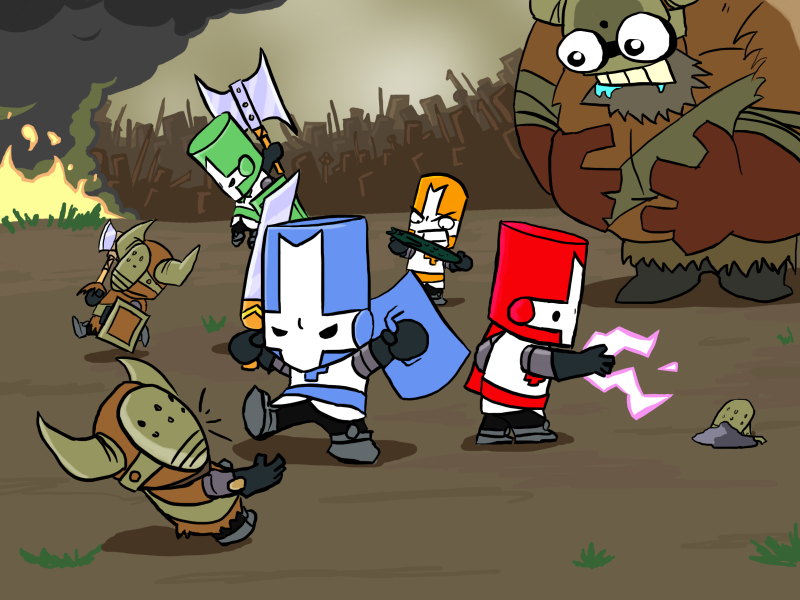 "This is Castle Crashers, also known as ""the moment people stopped regarding Xbox Arcade as an overpriced, gimmicky joke."""