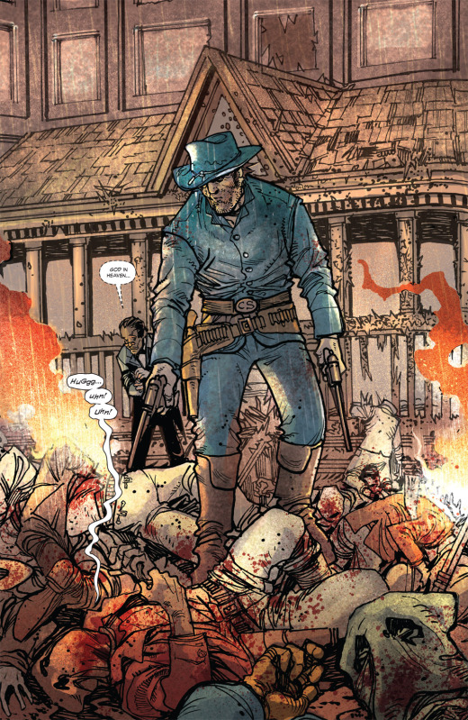 Paradoxically, nothing quite depicts the beautifully violent chaos of the American West like Jonah Hex.