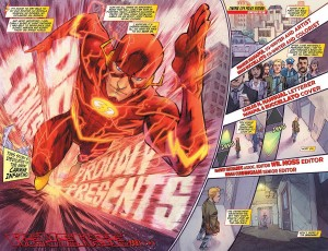 The way they capture his speed, and their creativity with panel layout...amazing!
